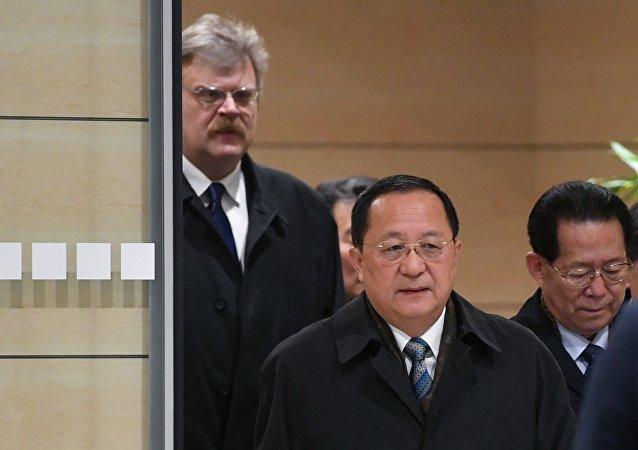 朝鮮外相抵俄開展正式訪問