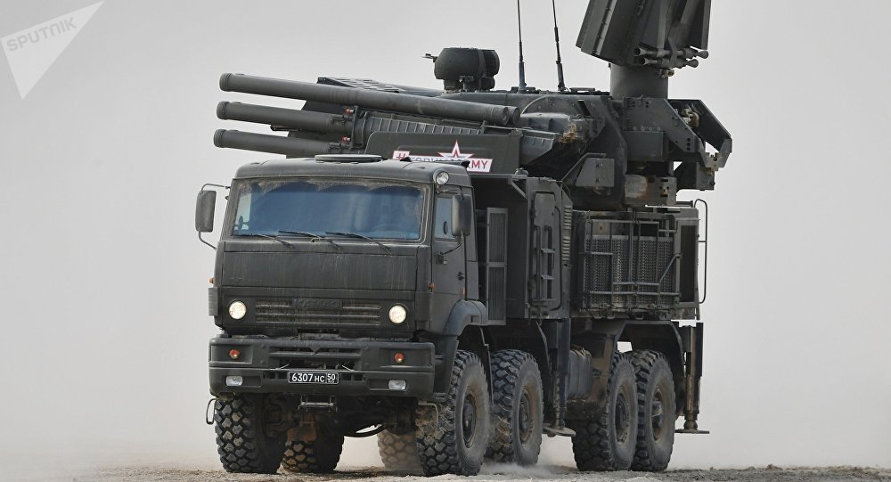 俄近年来向叙提供约40套铠甲-S1防空系统