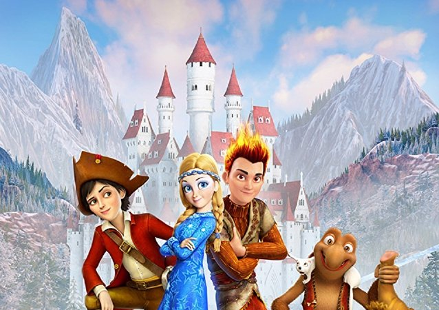 俄动漫《冰雪女王3:火与冰》在华上映四天票房达4300万元