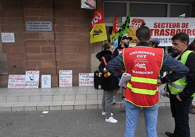 法国铁路公司因员工罢工损失约1亿欧元