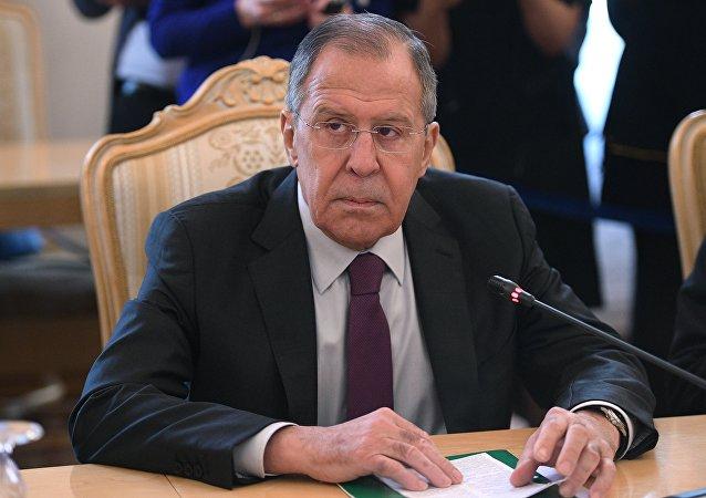 俄外长拉夫罗夫表示,接受朝鲜外相访朝邀请