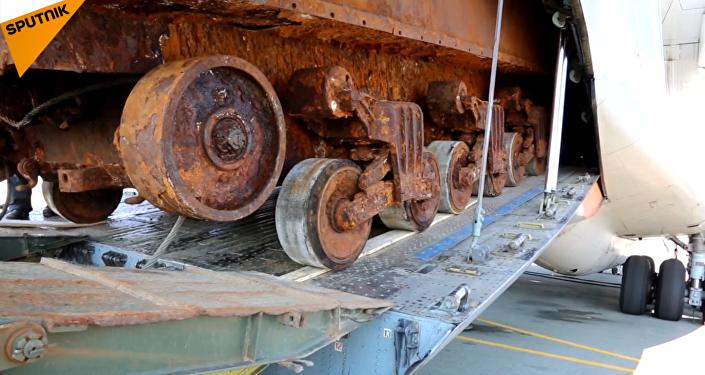 二战时期美军谢尔曼坦克运抵俄符拉迪沃斯托克