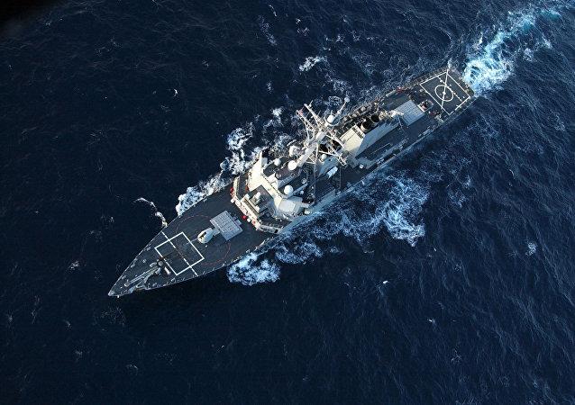 美唐纳德·库克号驱逐舰