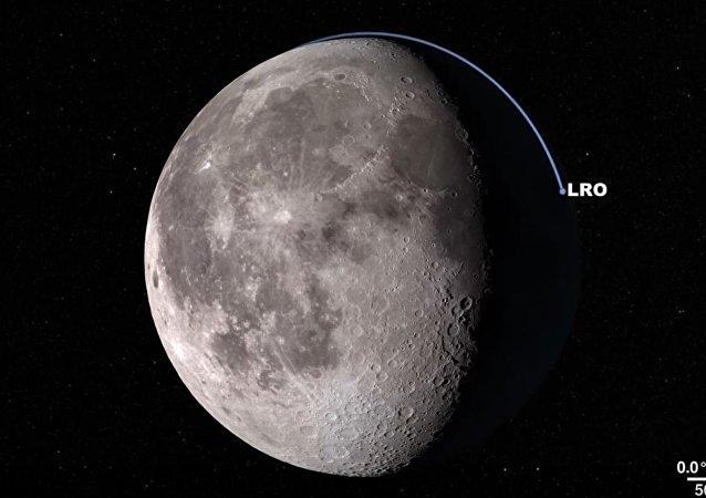 NASA对月球表面进行了虚拟巡视