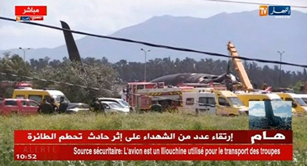 阿爾及利亞軍機失事地區發現181名死者遺體