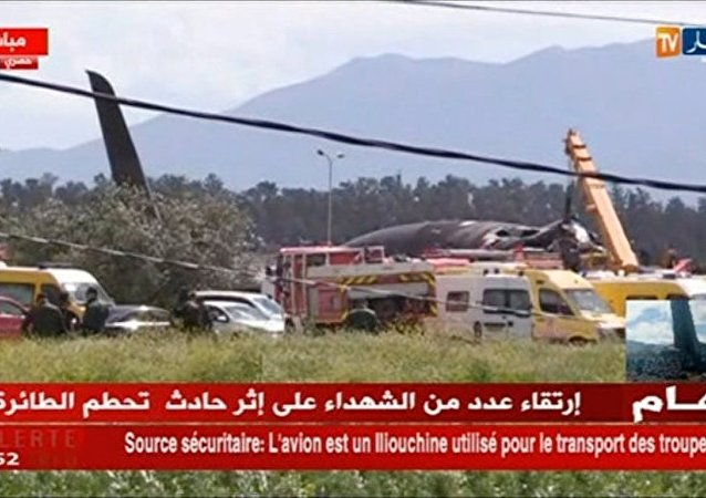 阿尔及利亚军机失事地区发现181名死者遗体