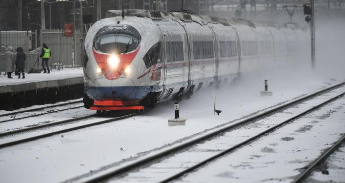 俄「游隼號」高鐵優化服務以適應中國遊客