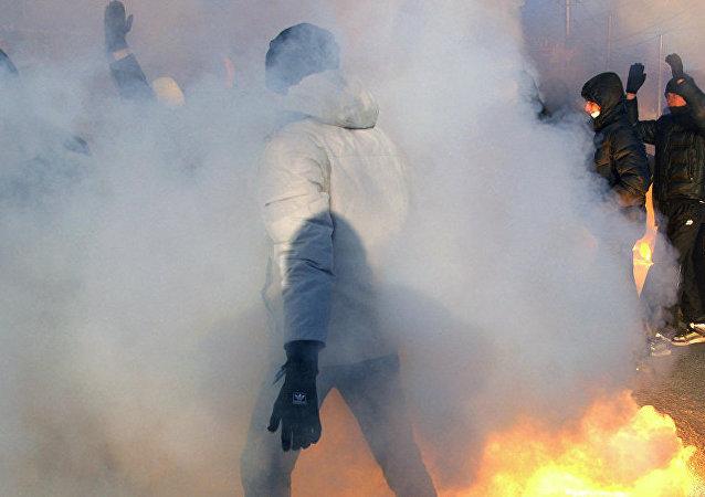 吉尔吉斯斯坦内务部:该国南部居民袭击中国工厂