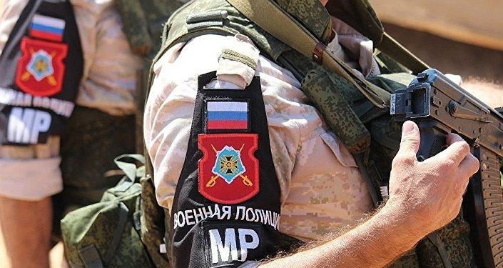 俄軍警在敘利亞