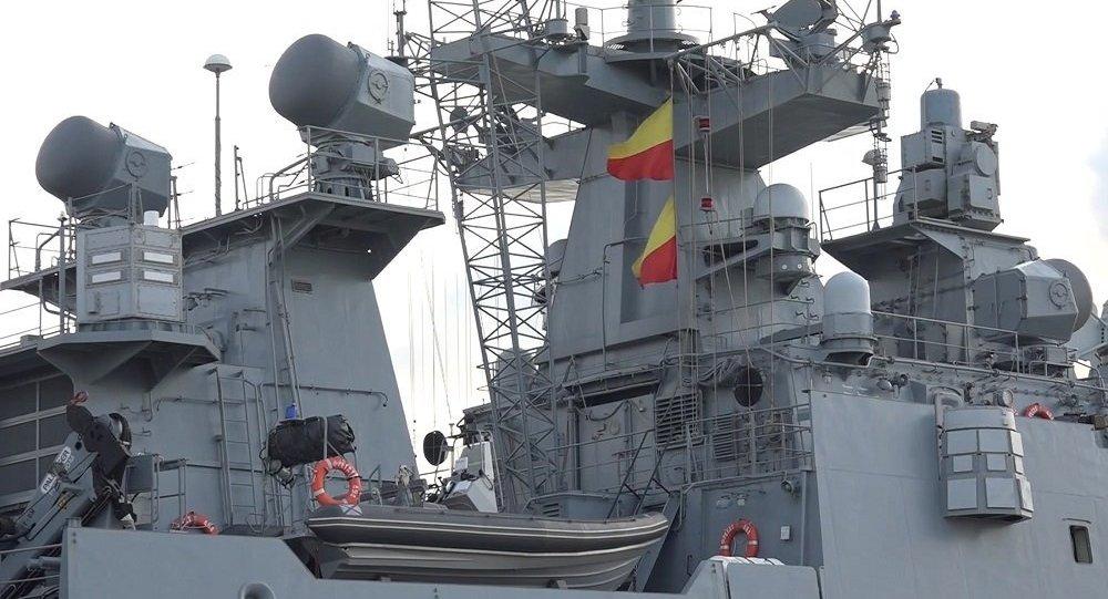 俄军巡舵舰