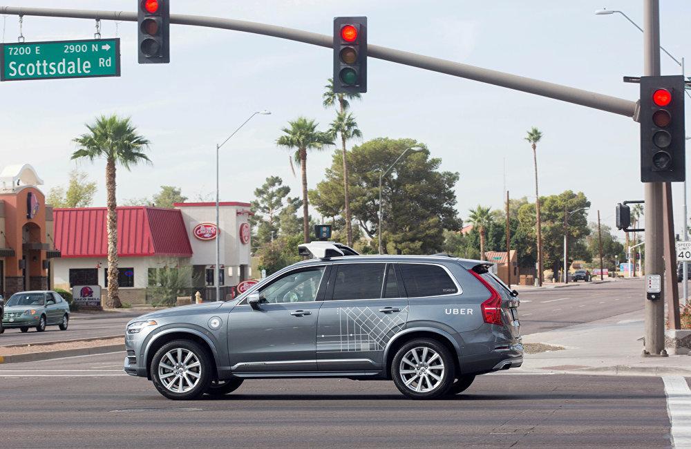 Uber自动驾驶汽车