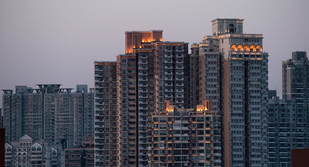 Residential buildings are seen in Shanghai