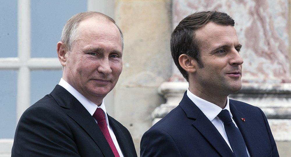 俄法总统通话强调调查杜马镇疑似化武事件的重要性