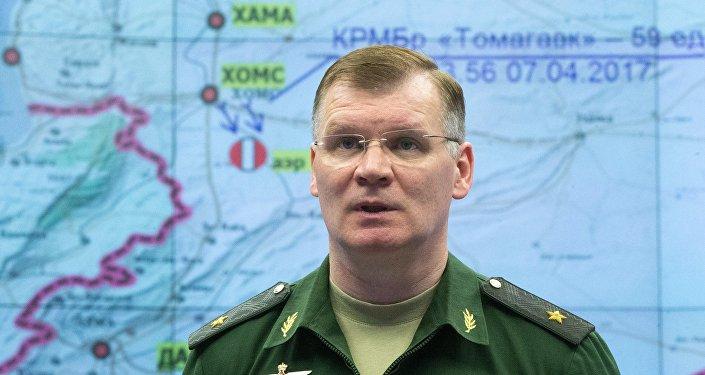 卡纳申科夫表示,俄罗斯国防部已经掌握英国直接参与组织东古塔区挑衅活动的证据