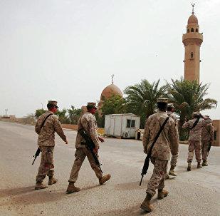 美国军人在约旦