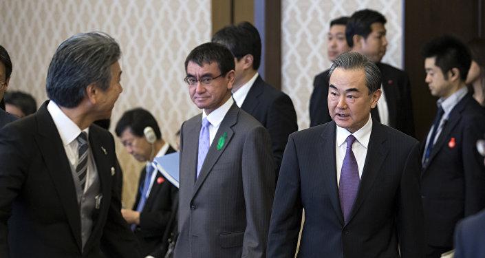 中國外交部:王毅訪日為中日兩國下一步高層接觸創造條件
