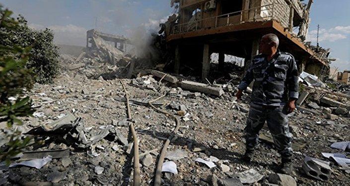 五角大楼坚称叙杜马发生化武攻击