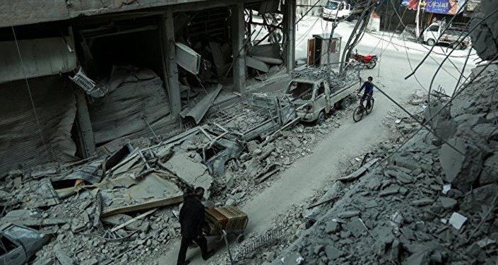 俄駐敘調解中心願為禁化武組織專家提供護衛