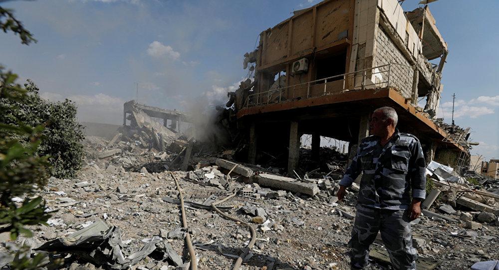 俄常駐禁化武組織代表質疑西方對敘利亞的打擊成果