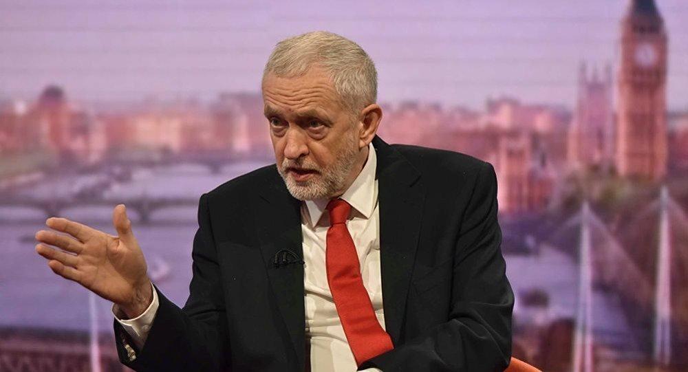 英国下议院英国反对党工党领袖科尔宾
