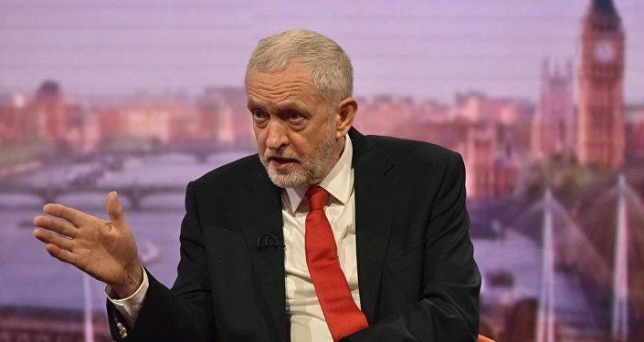 英國下議院英國反對黨工黨領袖科爾賓