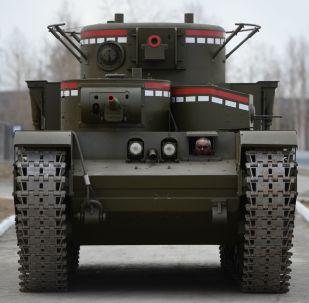 勇敢獎章上的圖像正是這部坦克