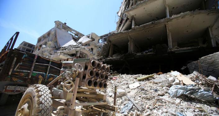 消息人士:世卫组织代表团在叙卫生部长陪同下进入杜马镇