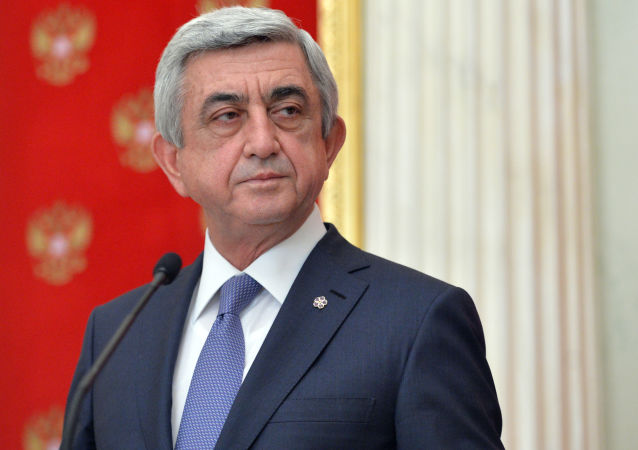 亚美尼亚前总统萨尔基相当选总理