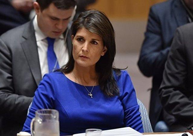 美常驻联合国代表此前不知美对俄制裁立场转变
