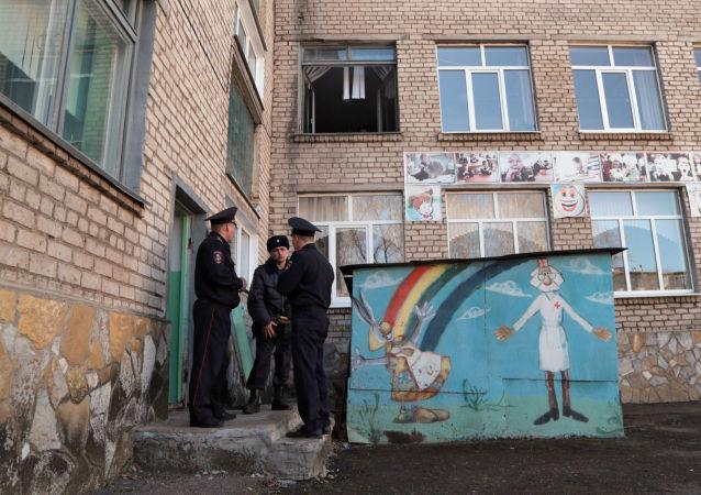 俄校园持刀袭击案未成年嫌犯被拘受审