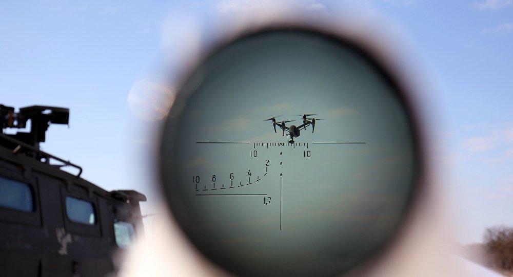 对抗无人机的电子枪已量产
