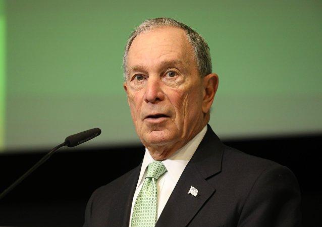 纽约前市长布隆伯格正式注册为美国总统候选人
