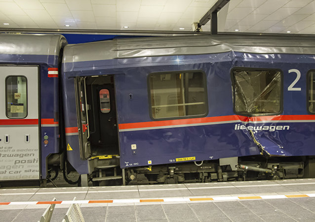 奥地利火车相撞致50多人受伤