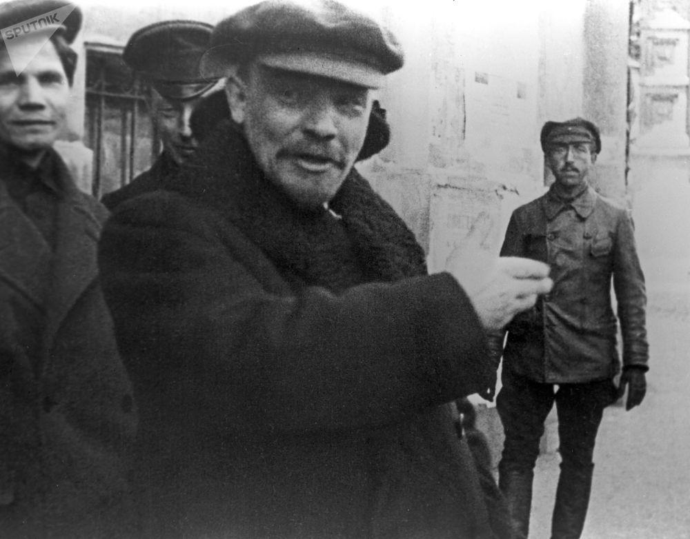 弗拉基米尔·列宁,莫斯科,1919年