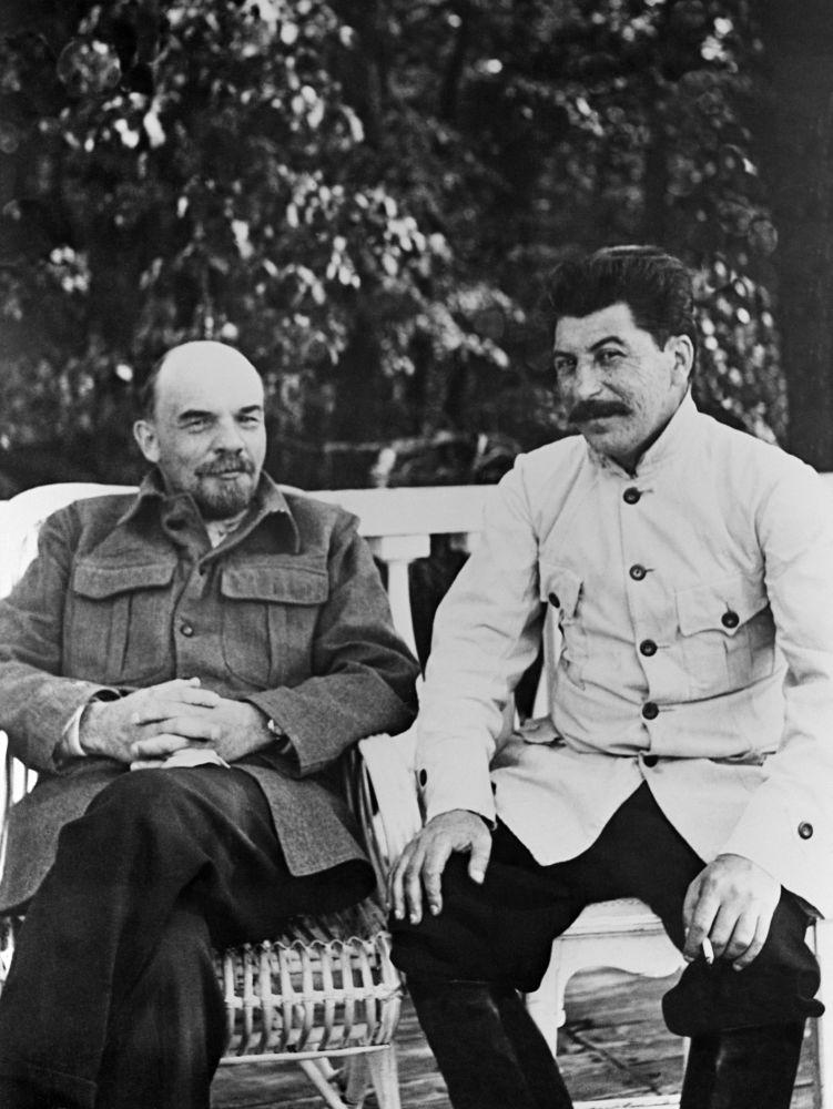 列宁与斯大林