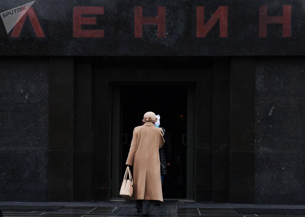 红场上的列宁墓