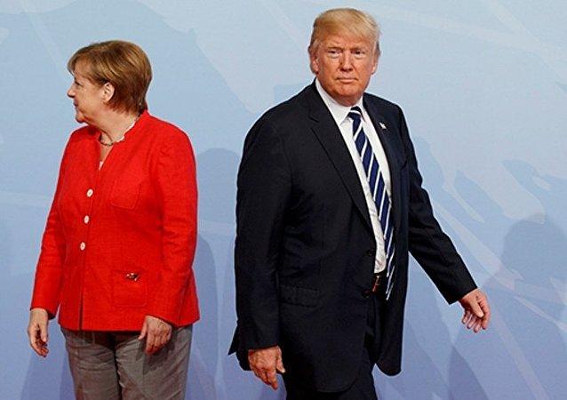 德國政府:德美領導人或將討論俄羅斯的行為