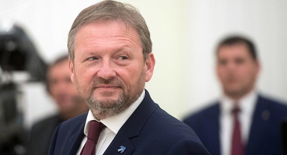 Кандидат в президенты РФ от Партии Роста Борис Титов