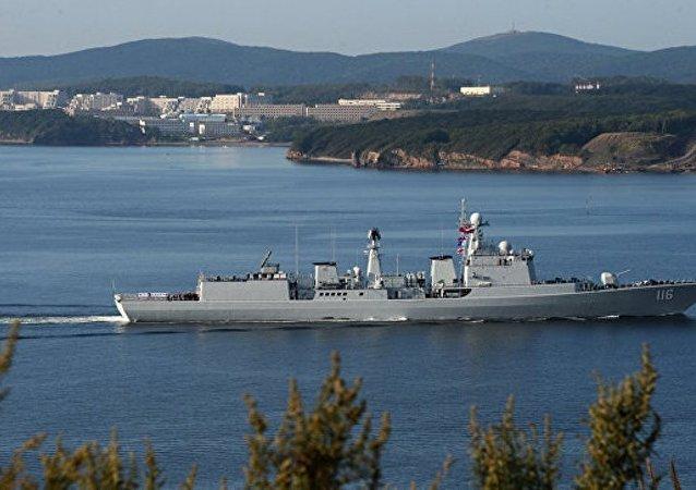 中國國防部:中澳軍艦南海相遇 中方操作合法合規