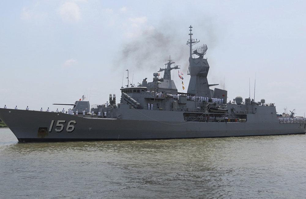澳大利亚的图文巴护卫舰