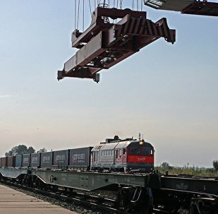 中國多省為來自俄羅斯的集裝箱貨運展開競爭