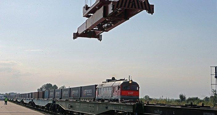 满洲里铁路口岸查验货物数量已超千万吨