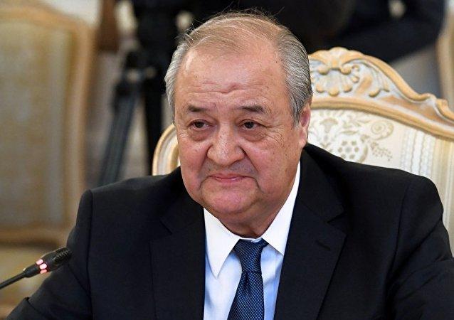 乌兹别克斯坦外长卡米洛夫