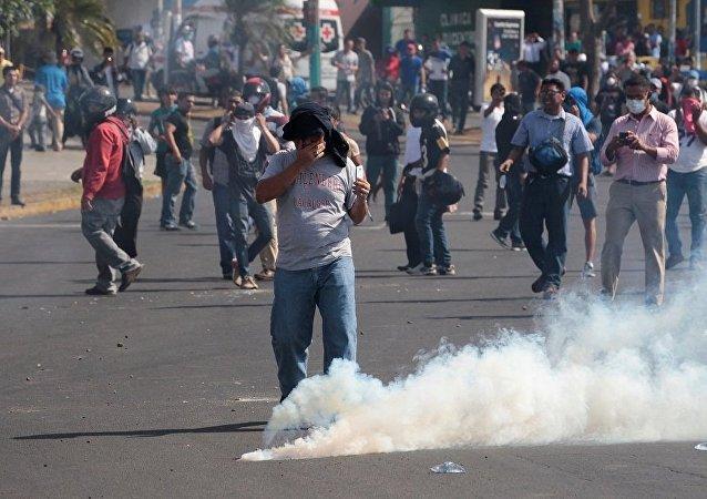尼加拉瓜抗议期间至少10人死亡88人受伤