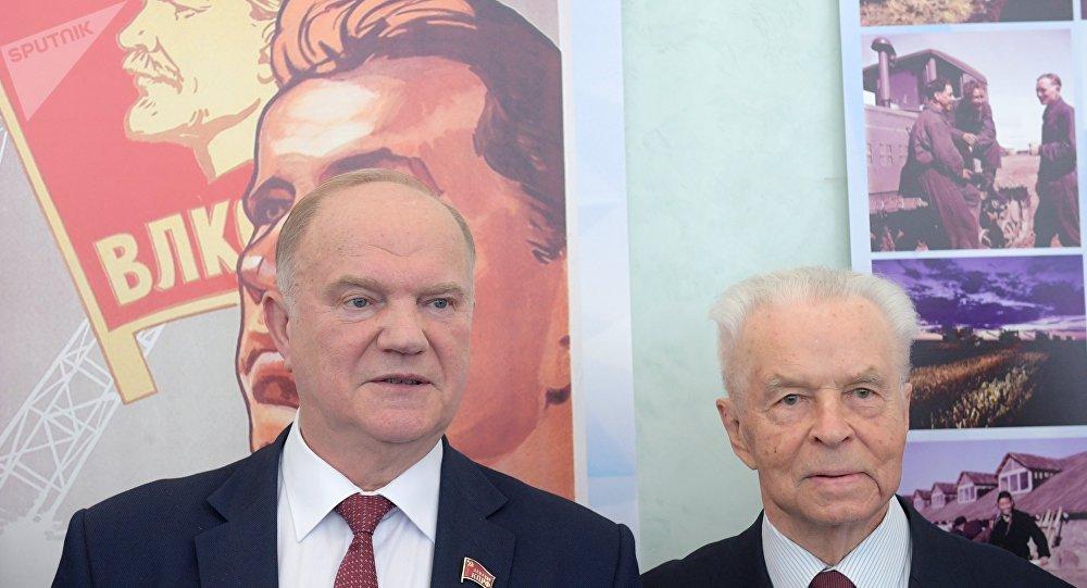 俄共领导人就列宁生日祝贺本国国民