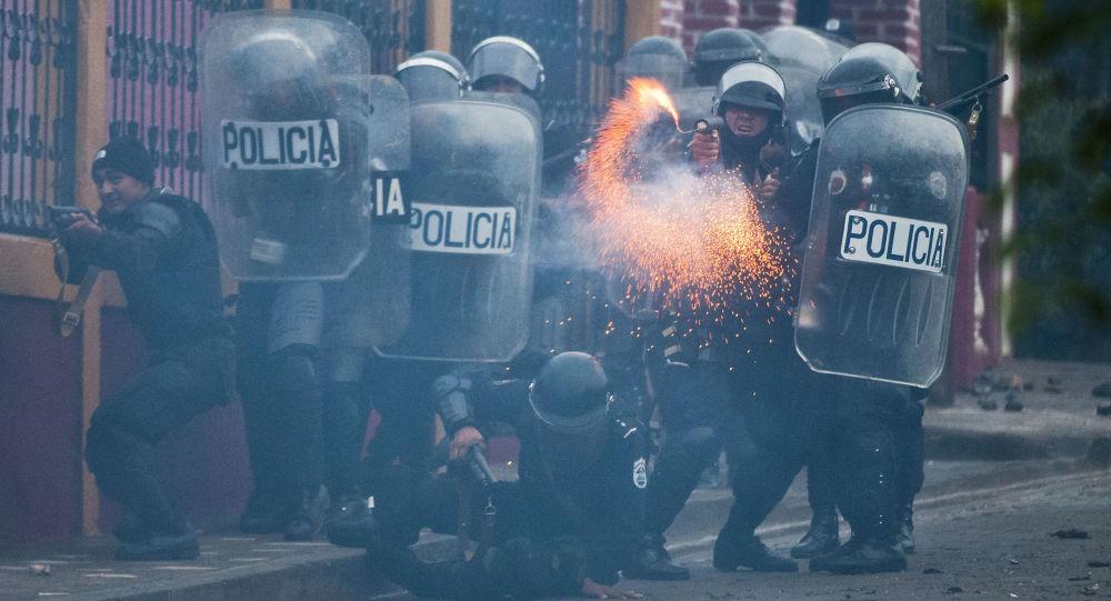 尼加拉瓜警方公布抗议活动中警员伤亡人数