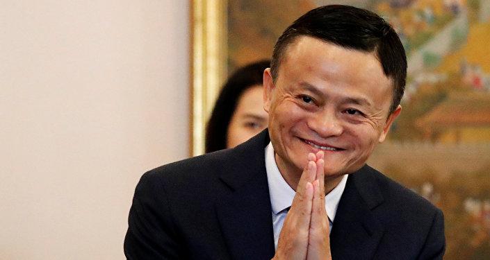 阿里巴巴創始人馬雲成為全球華人首富