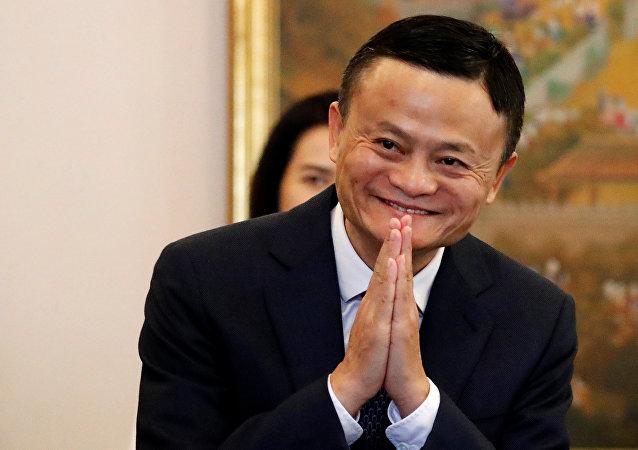 阿里巴巴创始人马云成为全球华人首富