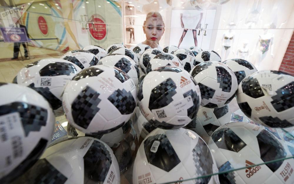 俄加里宁格勒首家世界杯官方商店正式开业