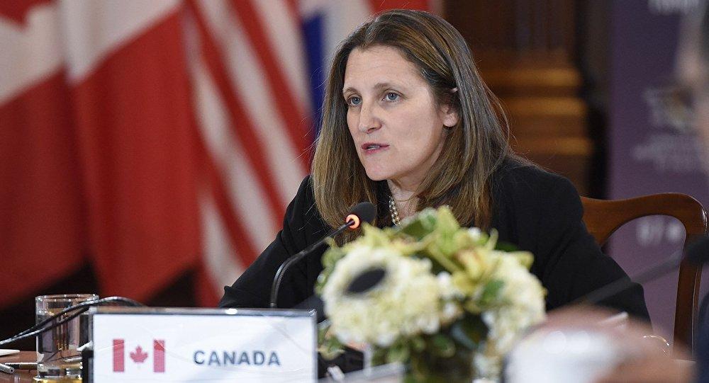 加拿大外長弗里蘭